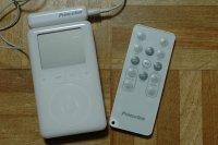 iPodとリモコン