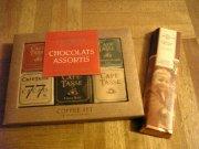 チョコーバーと板チョコ