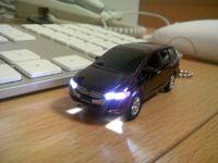 ディーラーでもらった新型ODYSSEYのチョロQ.光るLEDライト付き!