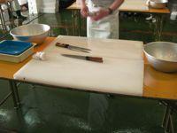 デカまな板と包丁