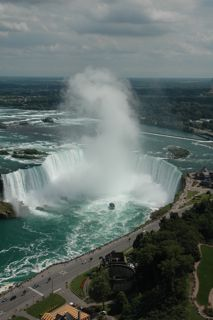 Canadian Falls from Skylon Tower