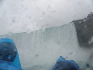 Canadian Falls from Maid of the Mist