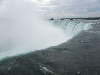 Canadian Fallsの上